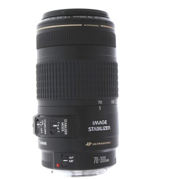 EF 70–300MM F/4–5.6 IS USM