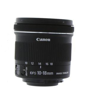 EF-S 10-18mm f/4.5–5.6 IS STM Lens