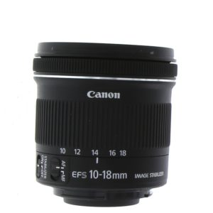 EF-S 10-18mm f/4.5–5.6 IS STM Lens